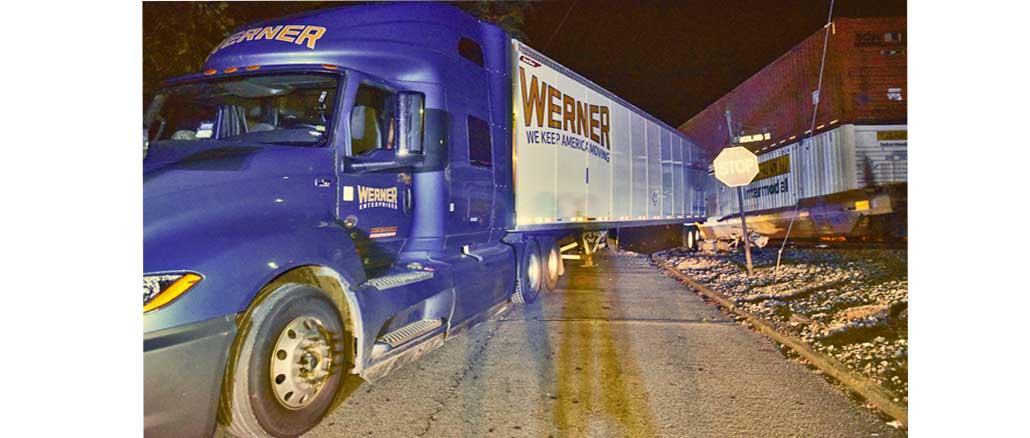 New Albany MS train struck truck
