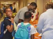 New Albany MS 2019-2020 Back to School Health Fair smiles