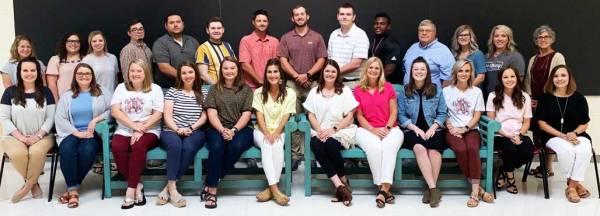 New Albany MS New teachers 2019-20