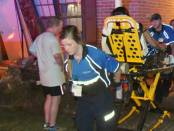 New Albany MS Shady Grove Rd. home struck by vehicle