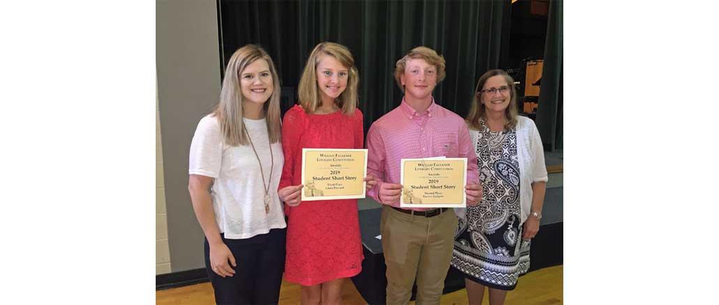 New Albany MS Faulkner winners from NAHS