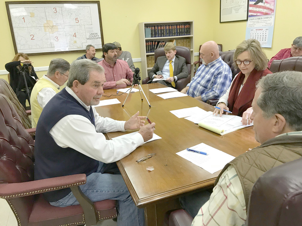 Union County Board of Supervisors