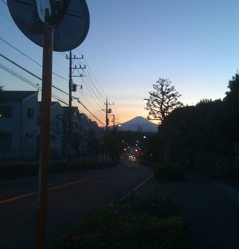 Another Fuji view