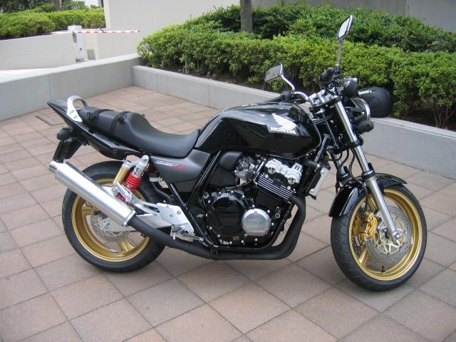 the bike - Honda CB400 SF 2006