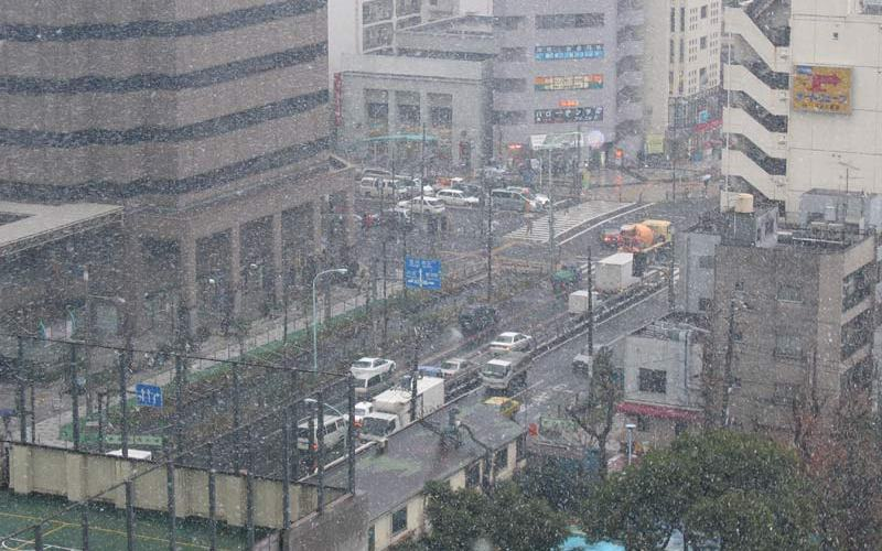 Snow in Kachidoki