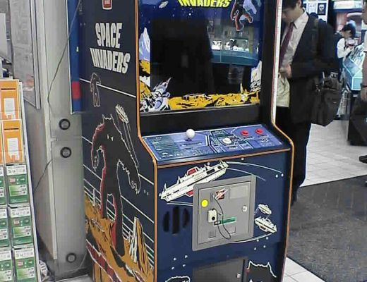 A Space Invaders Machine