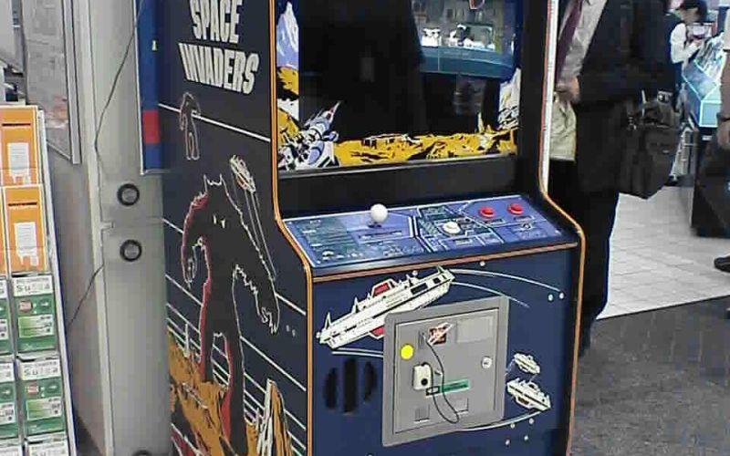 A Space Invaders Machine