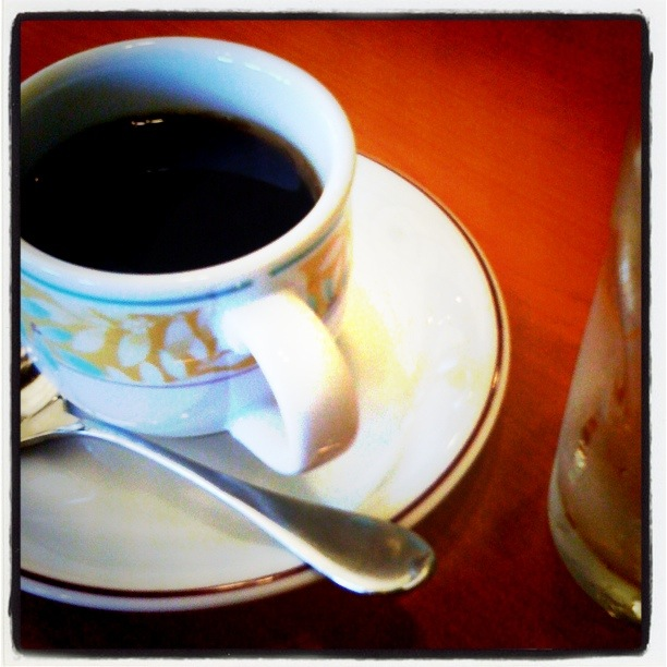 A Coffee at Denny's