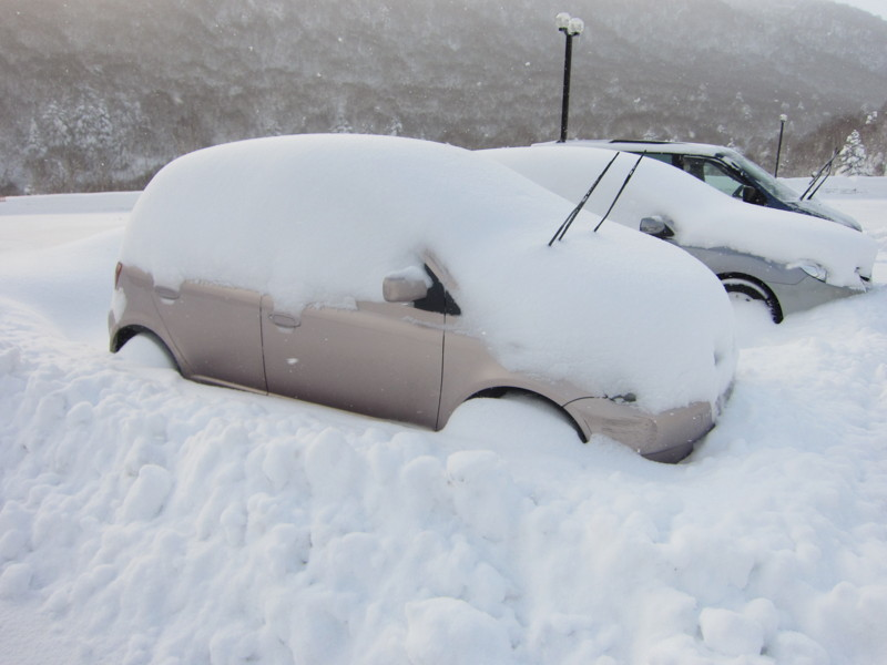 Dig out your car!