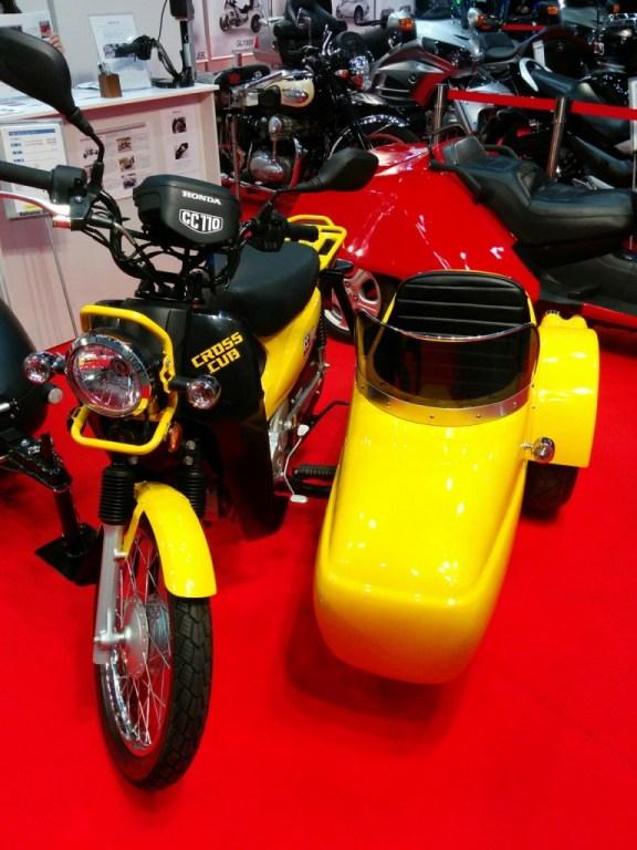 Super Cross Cub and Side Cub sidecar. Fan favourites