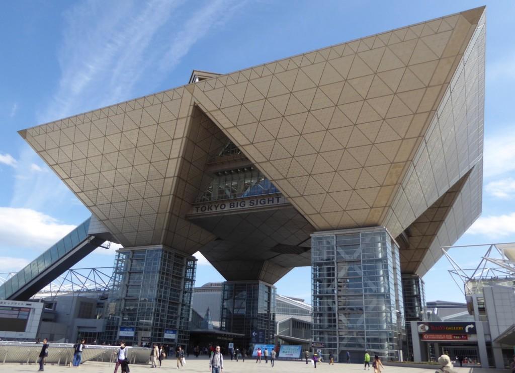 The Big Sight venue in Tokyo