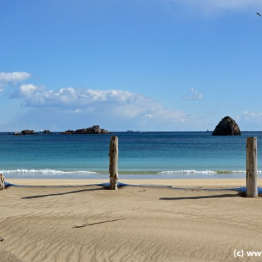 The Beach down by Shimoda