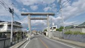 A more iconic reminder you're in Japan - a torii.
