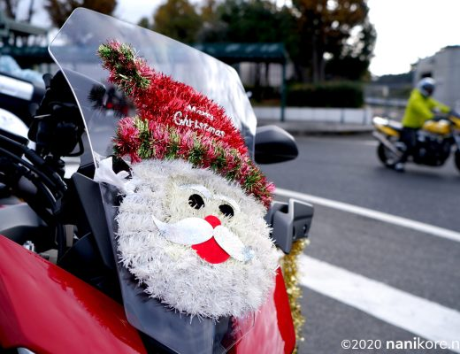 Santa on the windscreen