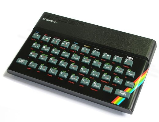 An Image of the ZX Spectrum