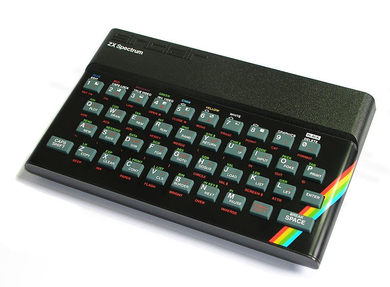 An image of the 1982 ZX Spectrum.