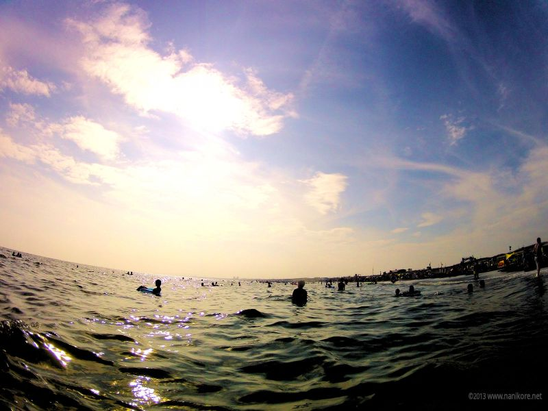 Photo from the water from a GoPro 2