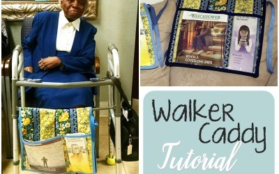How to Make a Walker Caddy