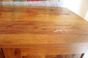 Laminate cabinet top