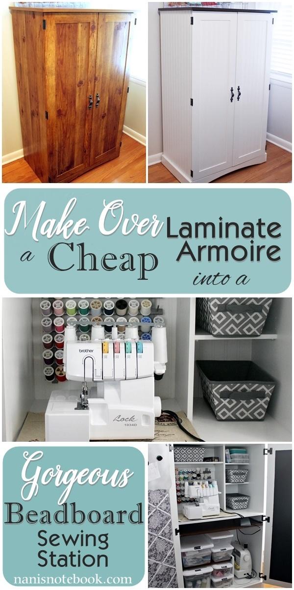 Make Over Laminate Cabinet
