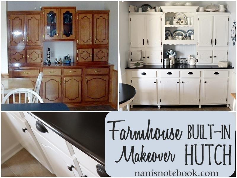 Farmhouse Hutch Makeover