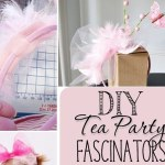 DIY Tea Party Fascinators