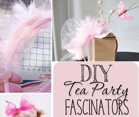 DIY Tea Party Fascinators