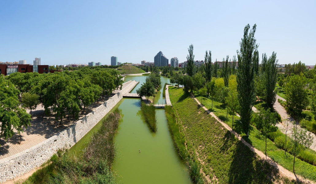 hotel valencia jardines zonas verdes