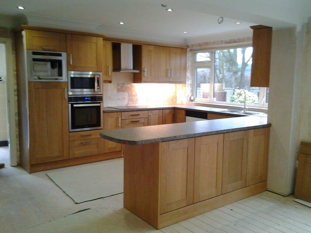 Rutland Oak Shaker Kitchen In Chesterfield S42 Nankivells