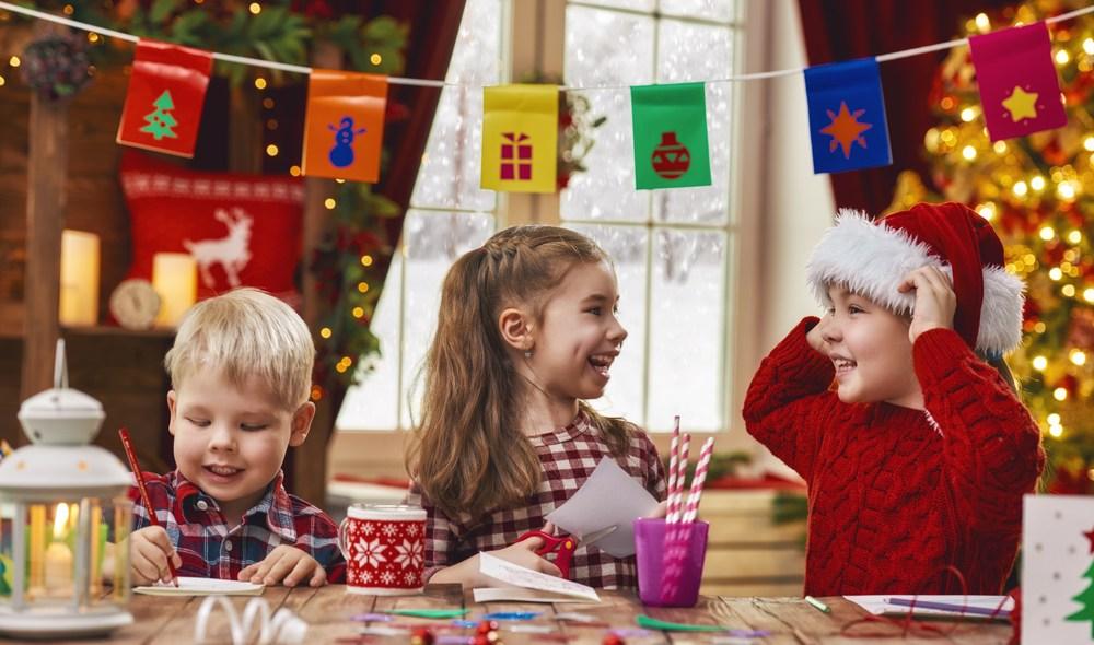 χριστουγεννιάτικες κατασκευές για παιδιά