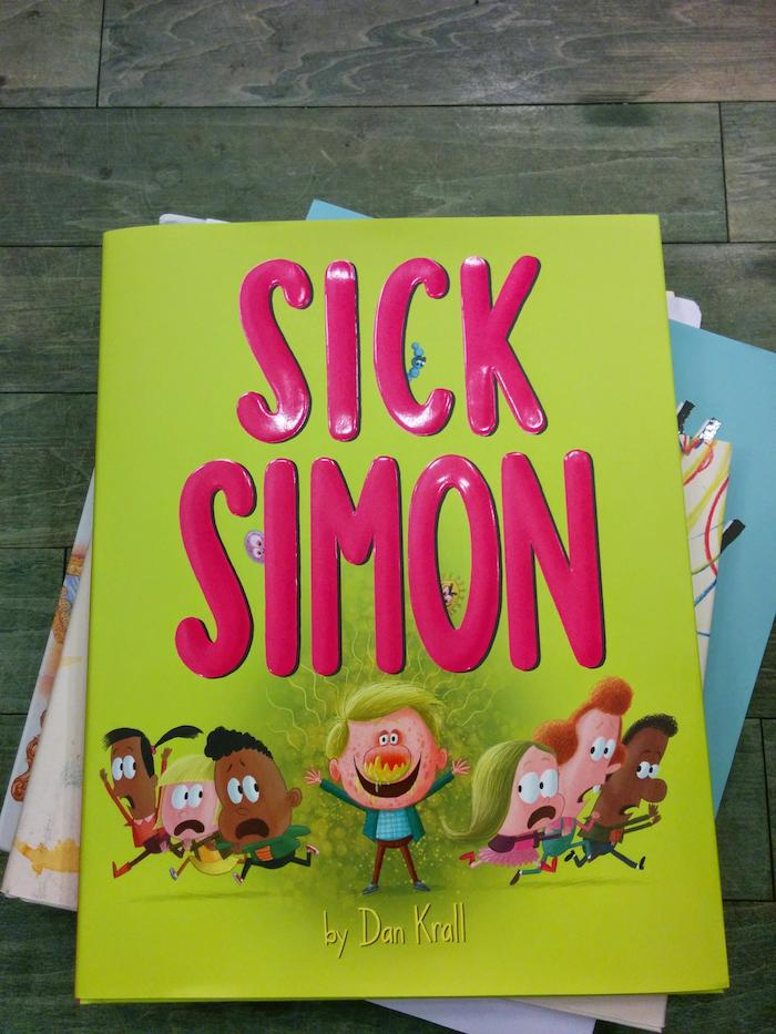 Sick Simon by Dan Krall review @Dapoppins for NANNY SHECANDO