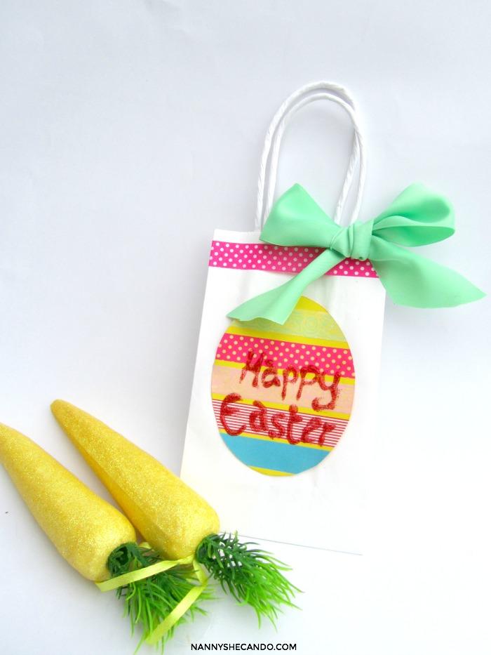 DIY Easter Egg Hunt Carry Baskets NANNY SHECANDO