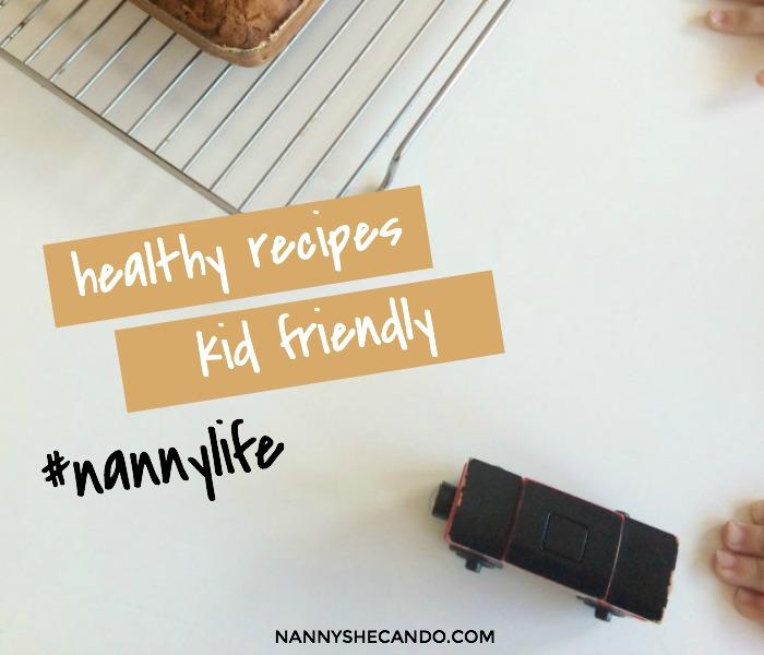 Healthy Kid Friendly Pear and Banana Bread, NANNY SHECANDO