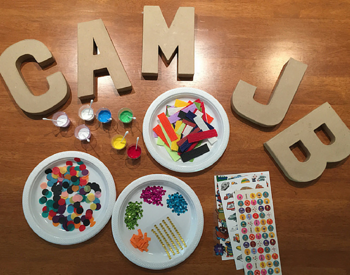 3D Wall Art Name Letters NANNY SHECANDO