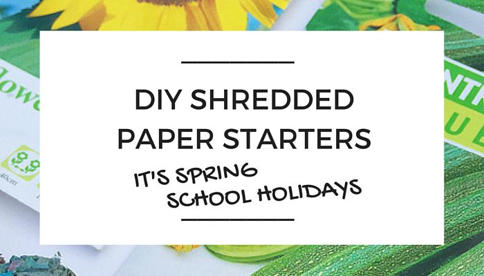 Shredded Paper Seed Starters NSCD2, OliviaSFoster, NANNY SHECANDO, Spring School Holidays