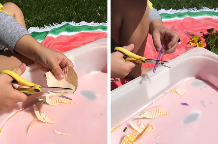 Make This Preschooler DIY Cutting Station, School Readiness, Back To School, Olivia Foster, NANNY SHECANDO