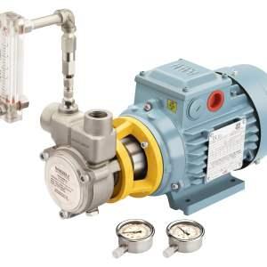 0075ENG25MNBSS316L415V – NANOBBLE – 1 m3/hour Micro Nano Bubble Generator DAF Pump – MOC SS316 L – Three Pahse 240/415 V 50 Hz