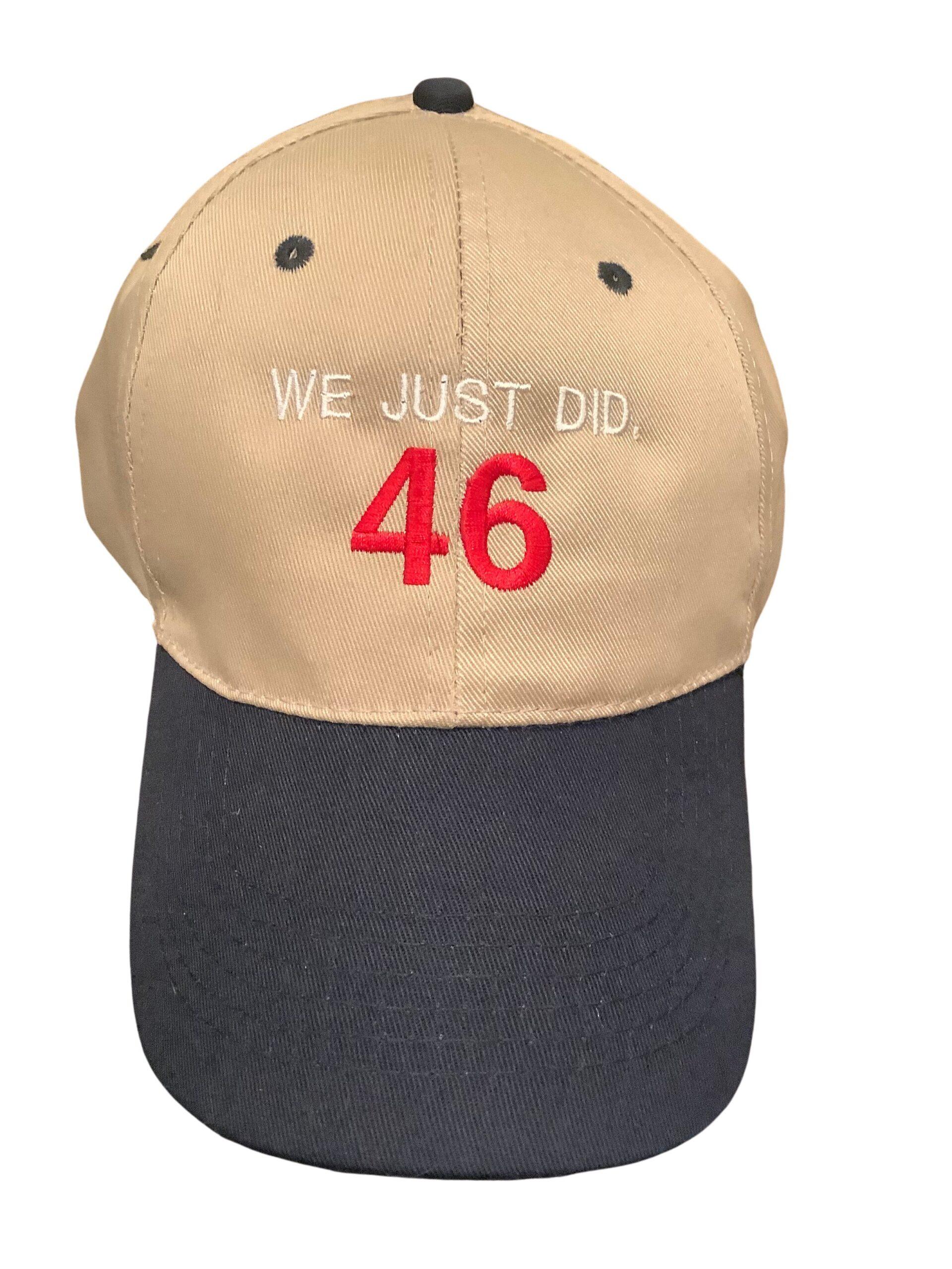Bingeprints We Just Did 46 Biden 2020 President Elect Unisex Hat