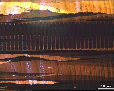 Nanoscale landscape painting