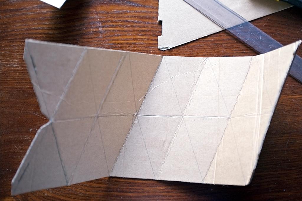 wazon z papieru origami