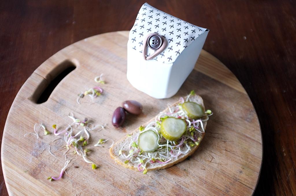 lunchbox z opakowania po mleku