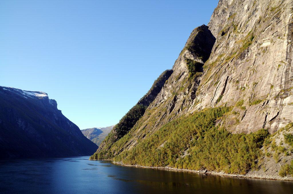 Norwegia fiordy