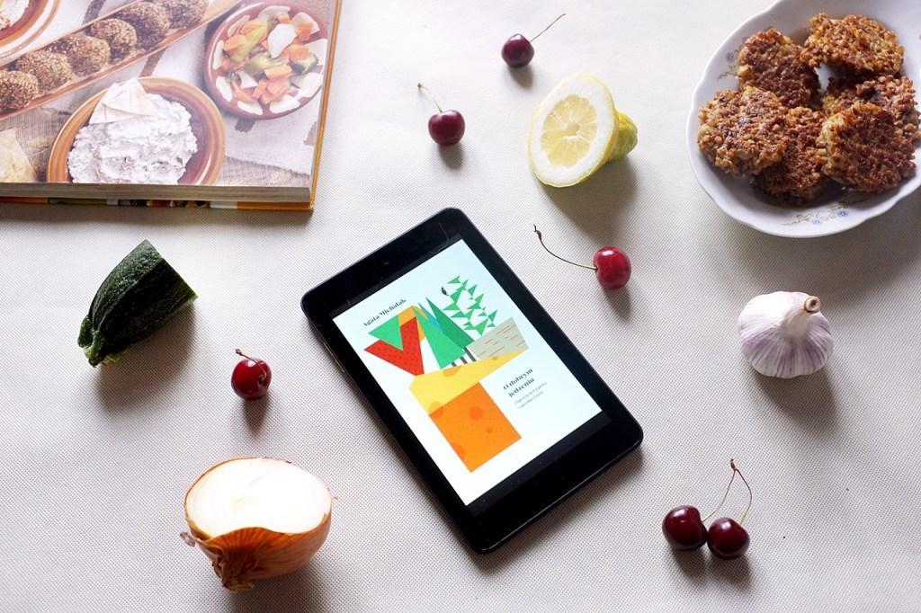 """książka """"o dobrym jedzeniu"""""""