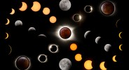 """Showcase 2020 Top 100 Winner: """"Photo collage of solar and lunar eclipses, Tennessee and Virginia"""" © Joyce Harman"""