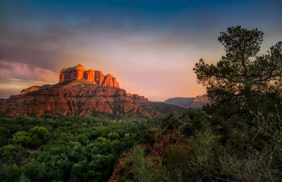 This red rock image was made on a Fotopro Eagle series tripod. © Bob Coates