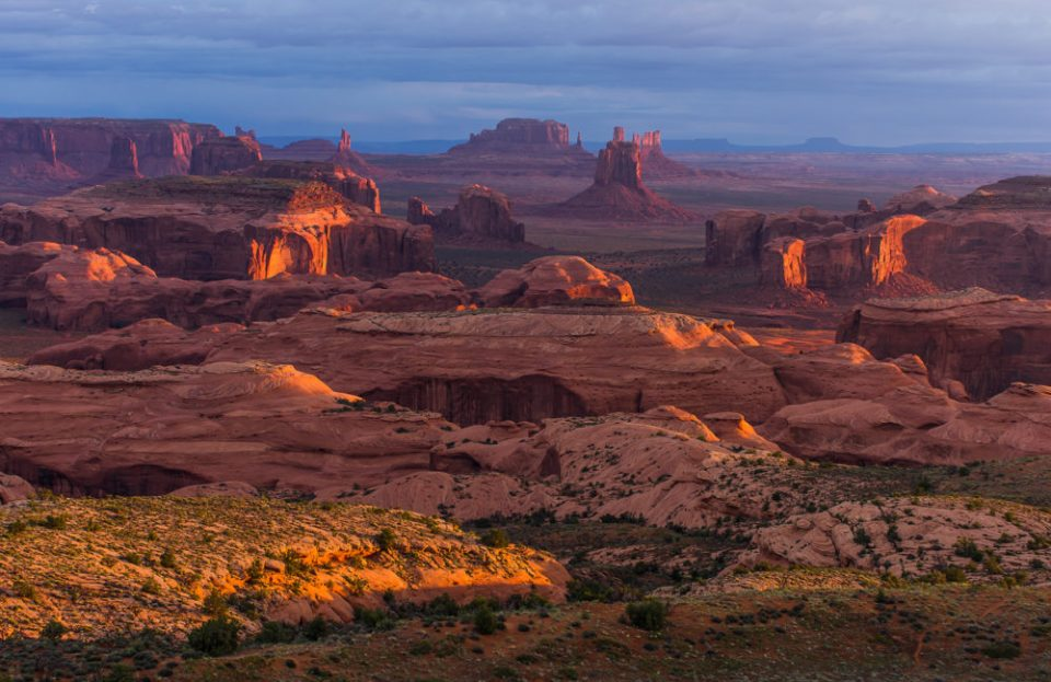 View from Atop Hunt's Mesa © Jerry Ginsberg