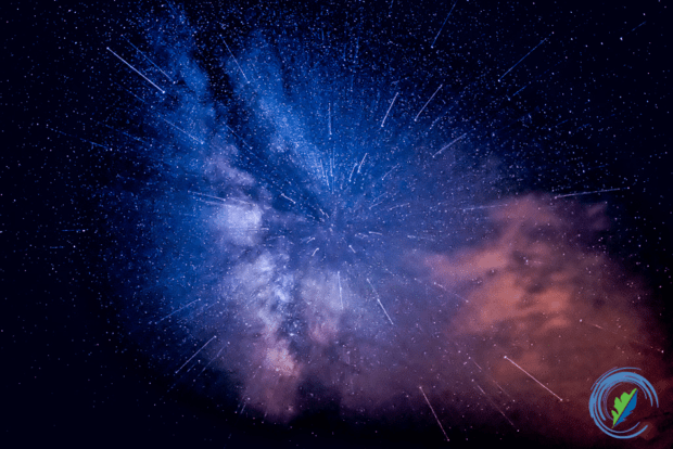 Intergalactic lens zoom of the Milky Way, Acadia State Park, Maine © David Francis
