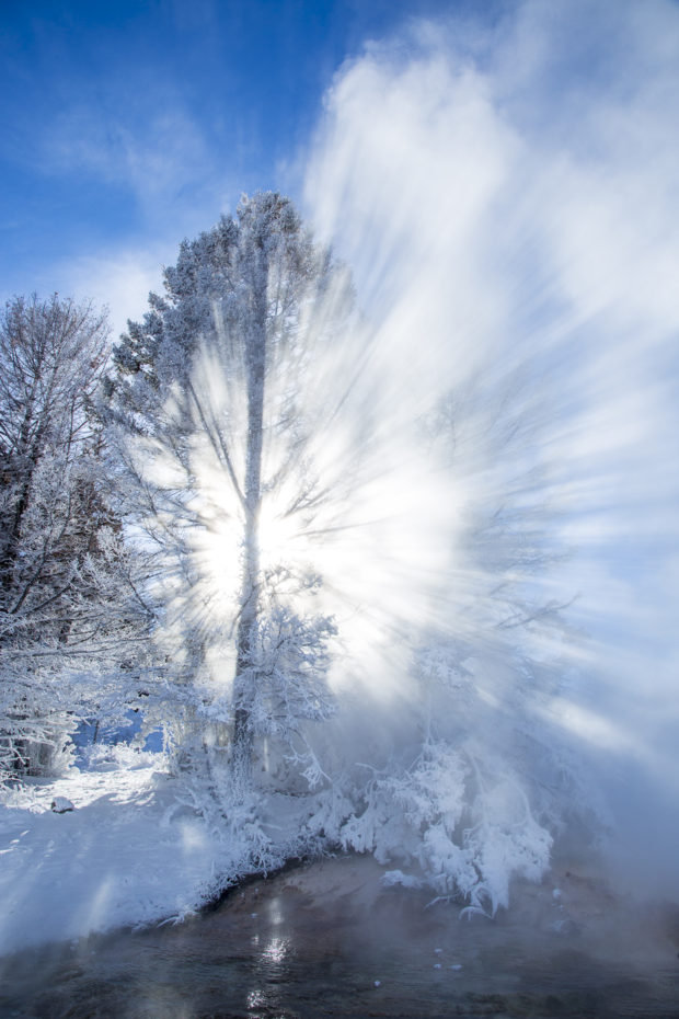 Nikon D750 Photography in Extreme Winter Conditions - Magazine cover