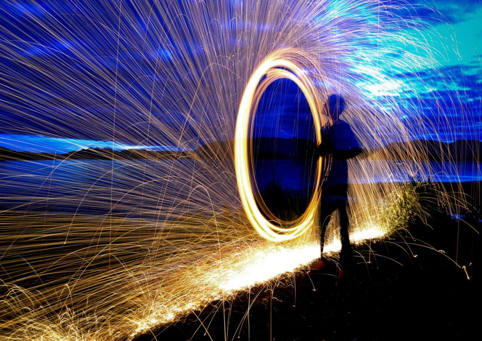 Steelwool Image © Lione Clare