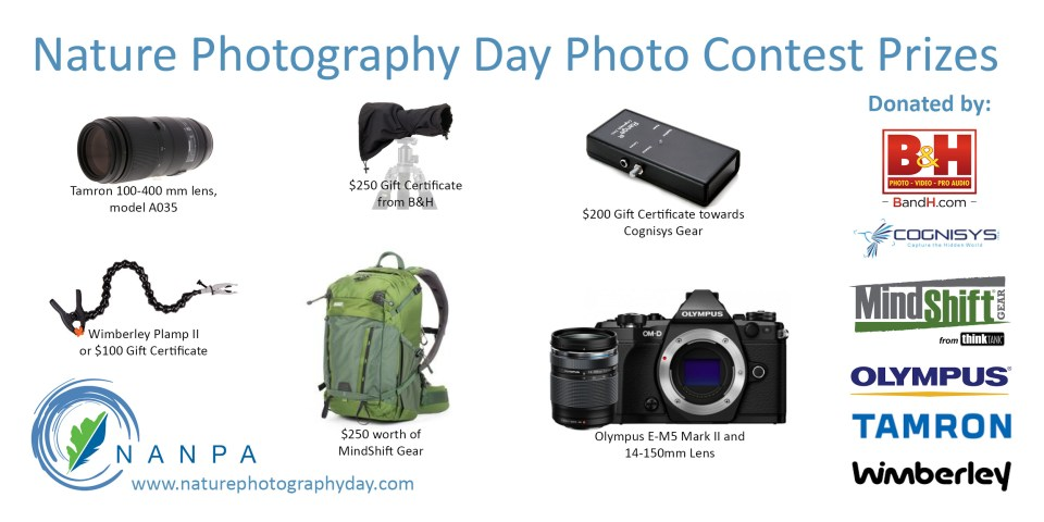 Nature Photography Day Photo Contest Prizes 2018